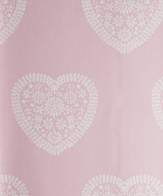Tapeta Harlequin All About Me 110539 różowa w białe serduszka