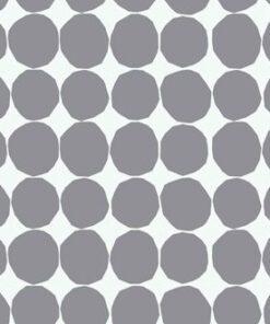 Tapeta Sirpi Marimekko 13060 biała w szare grochy