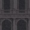 Tapeta Cole & Son Fornasetti II 97/9027 Procuratie granatowa architektura arkady