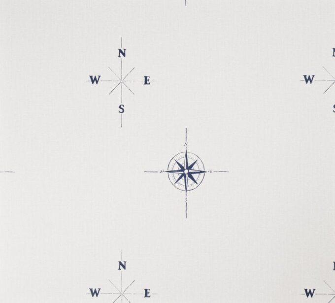 Tapeta Galerie Deauville G23011 biała marynistyczna