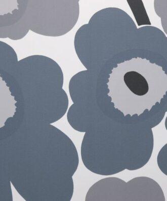 Tapeta Sirpi Marimekko 13070 w duże szare kwiaty