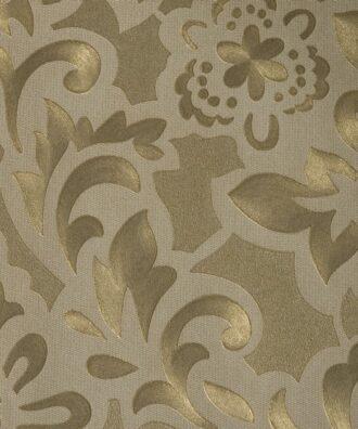 Tapeta Marburg Opulence 77809 w kwiaty złota